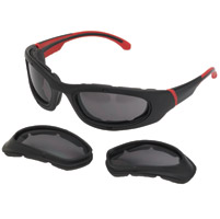 Chap'el Interchangeable Red Sunglasses