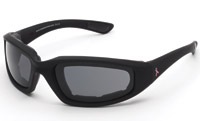 Chap'el Breast Cancer Awareness Pink Ribbon Padded Sunglasses with Smoke Lens