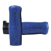 Avon Grips Old School Coke Bottle Grips Blue Sparkle