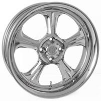 Performance Machine Wrath Chrome Rear Wheel, 15