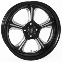 Performance Machine Wrath Platinum Contrast Cut Rear Wheel, 15