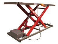 K&L Supply Co. MC500R Hydraulic Electric Lift, Red