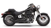 Cobra Speedster Short Swept Exhaust System Black
