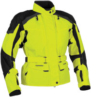Firstgear Women's Kilimanjaro DayGlo/Black Textile Jacket