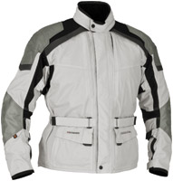 Firstgear Men's Kilimanjaro Silver/Dark Gray Textile Jacket