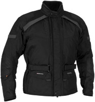 Firstgear Men's Kilimanjaro Black Textile Jacket