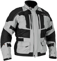 Firstgear Men's Kathmandu Black with Dark Gray Jacket