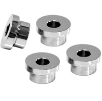 LA Choppers Chrome Angled Riser Bushing Kit