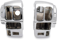 Chrome Radiused Switch Housing Set with Radio and Cruise