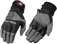 Firstgear Dark Gray/Black Men's Baja Mesh Gloves
