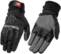 Firstgear Black Men's Baja Mesh Gloves