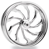 Performance Machine Torque Chrome Rear Left Wheel, 18