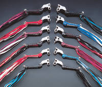 Iron Braid Chrome Braided Levers
