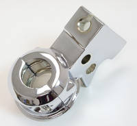 V-Twin Manufacturing Chrome Clutch Lever Bracket