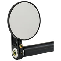 Joker Machine Concealed Bar End Mirror  2 Tech Chrome-Plated 09-327C*