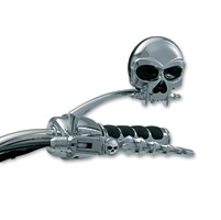 Kuryakyn Zombie Lever Set for H-D Models Equipped with Cable Clutch