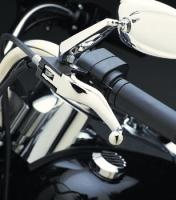 Ergonomic Chrome Smooth Wide Lever Set