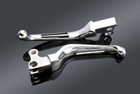 J&P Cycles® Ergonomic 2-Slot Wide Lever Blades