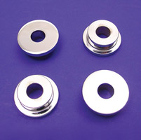 V-Twin Manufacturing Chrome Solid Riser Mount Kit
