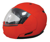 AFX FX-140 Safety Orange Modular Helmet
