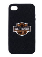 Fuse Harley-Davidson Black Silicone Case for iPhone 4