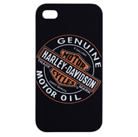 Fuse Harley-Davidson Black/Orange Hard Case for iPhone 4