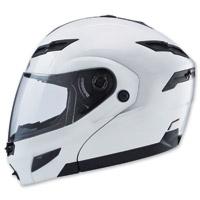 GMAX GM54S Pearl White Modular Helmet