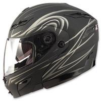 GMAX GM54S Derk Flat Black Modular Helmet