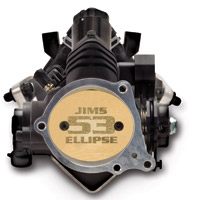 JIMS 53mm Throttle Body without Electronics