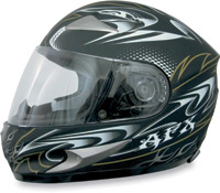 AFX FX-90 W-Dare Flat Black Full Face Helmet