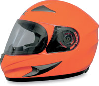 AFX FX-90 Safety Orange Full Face Helmet