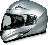 AFX FX-Magnus Big Head Silver Full Face Helmet