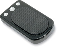 Drag Specialties Black Brake Pedal Cover
