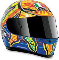 AGV GP-Tech Rossi 5 Continents Full Face Helmet