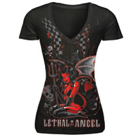 Lethal Threat Lethal Angel T-shirt
