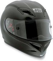 AGV Grid Solid Black Full Face Helmet