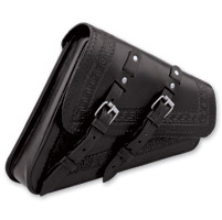 Convict Custom Cycles La Raza Black Swingarm Bags