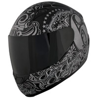 Speed and Strength SS1500 Six Speed Sisters Black Full Face Helmet