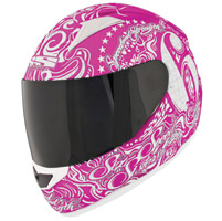 Speed and Strength SS1500 Six Speed Sisters Pink Full Face Helmet
