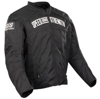 Speed and Strength Black Seven Sins Textile Jacket
