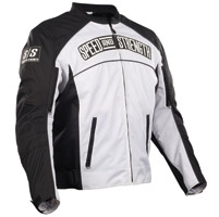 Speed and Strength White Seven Sins Textile Jacket