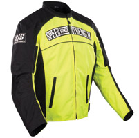 Speed and Strength Hi-Vis Yellow Seven Sins Textile Jacket