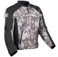 Speed and Strength Digital Camo Seven Sins Textile Jacket