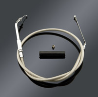 Drag Specialties Standard Stainless Steel Idle Cable