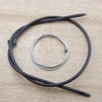 V-Twin Manufacturing Inner and Outer Brake Cable Kit