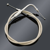 J&P Cycles® Stainless Steel Throttle Cable