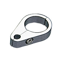 J&P Cycles® Dual Throttle Cable Clamp