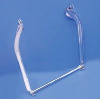 Chrome Rear Frame Stand
