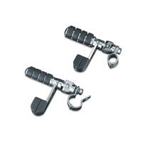 Kuryakyn Large ISO Peg with ISO-Stirrup and 1-1/4″ Magnum Quick Clamps