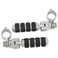 Kuryakyn Small ISO-Pegs With Clamps